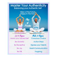 "Poster ""Master Your Authenticity"""